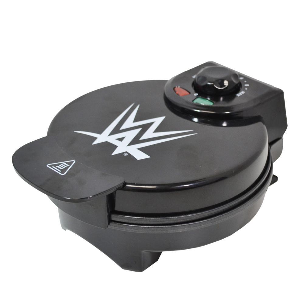 World Wrestling Entertainment Championship Belt Black Waffle Maker