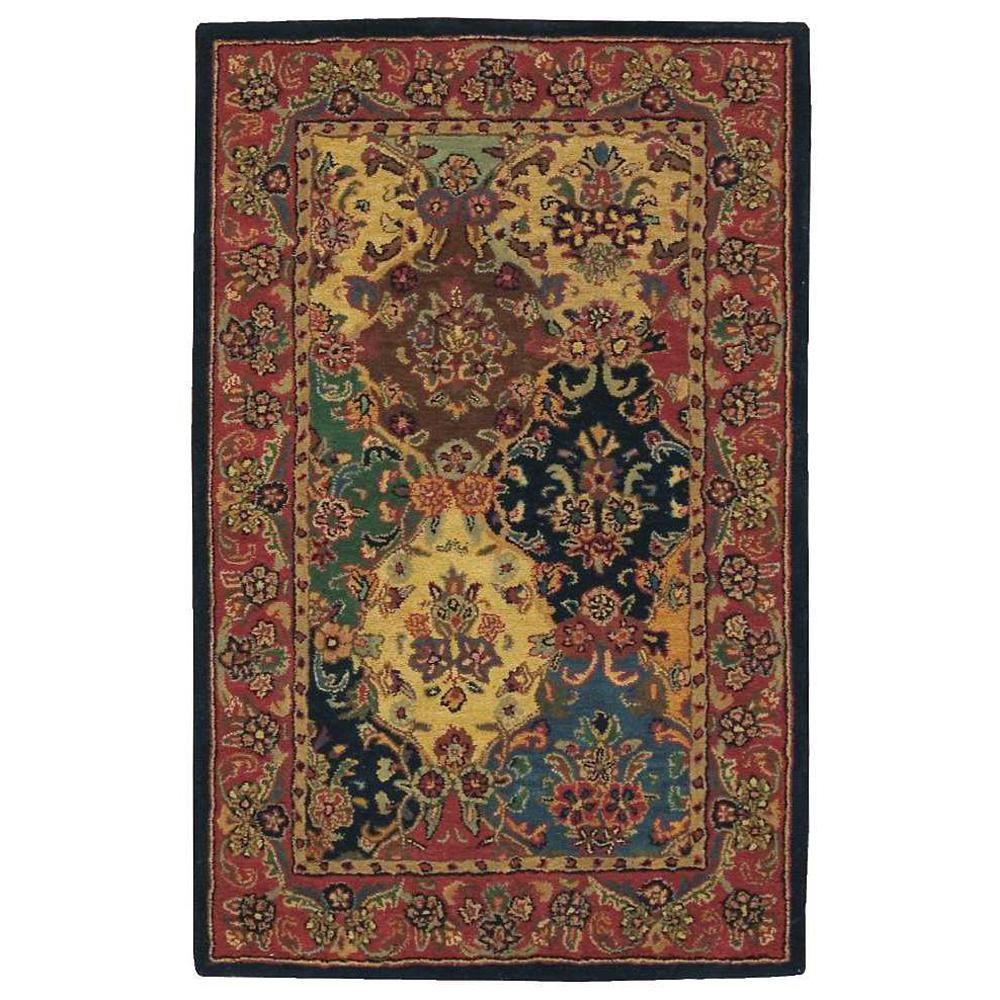 Nourison India House Multicolor 5 Ft. X 8 Ft. Area Rug