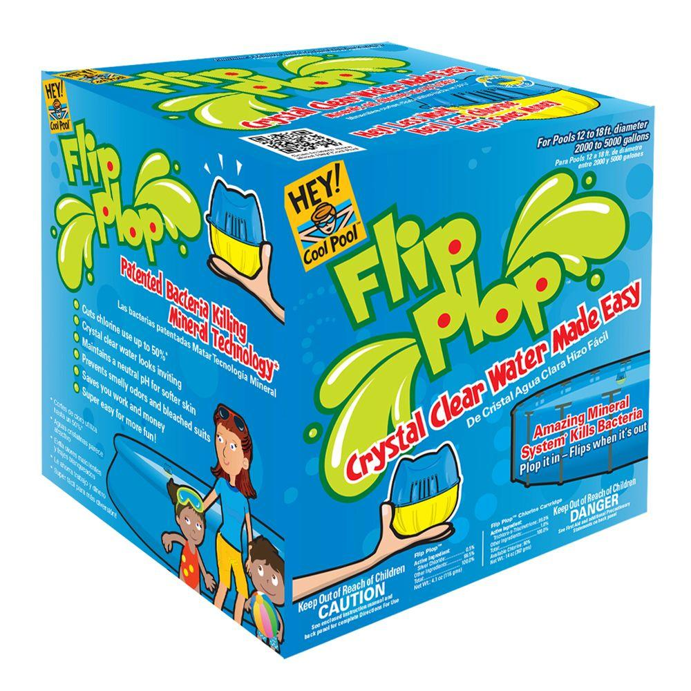 Hey Cool Pool Flip Plop System