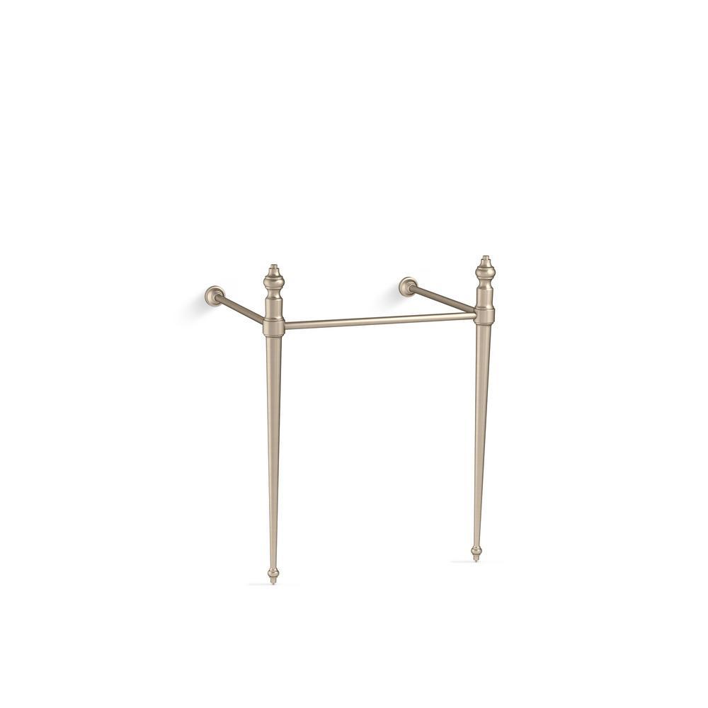 KOHLER Memoirs Console Table Legs in Vibrant Brushed Bronze