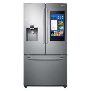 Kitchenaid 20 Cu Ft French Door Refrigerator In Stainless Steel