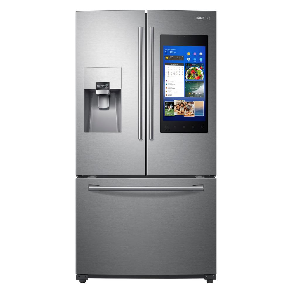 Samsung 24 6 Cu Ft Family Hub French Door Smart
