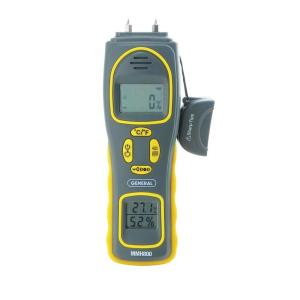 General Tools 4-in-1 Pin/Pad Moisture Meter with Humidity and Temperature Display by General Tools