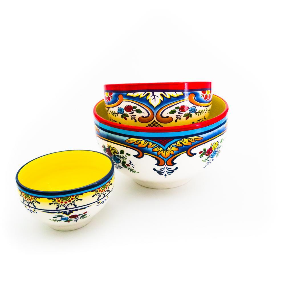Zanzibar 3-Piece Mixing Bowl Set