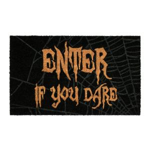 If you Dare 18 in. x 30 in. Coir Door Mat