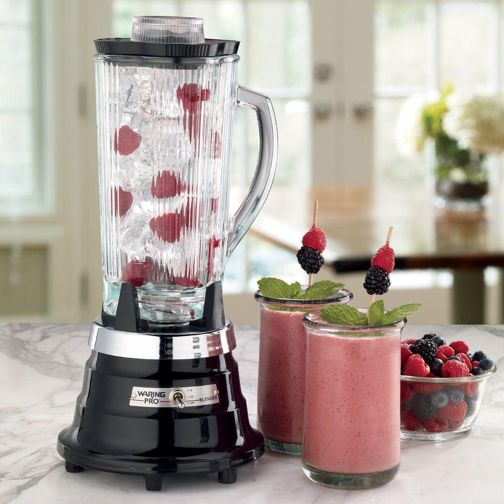 Waring Pro 40 oz. Professional Food and Beverage Blender in Ebony