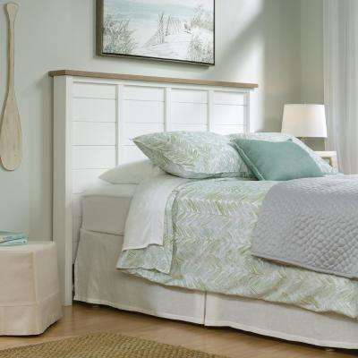 Cottage Road Soft White Full/Queen Headboard
