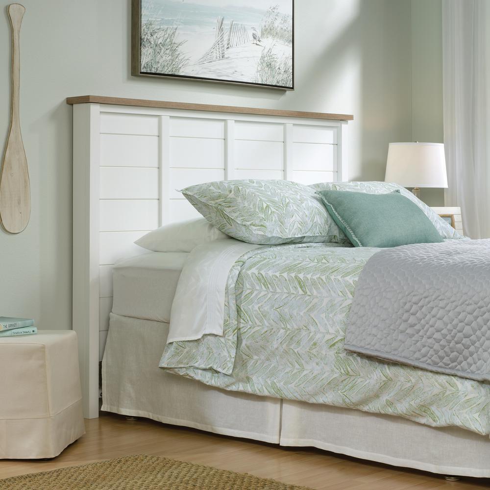 SAUDER Cottage Road Soft White Full/Queen Headboard