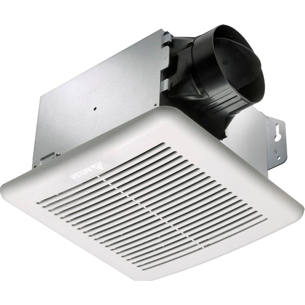 Delta Breez GreenBuilder Series 50 CFM Ceiling Bathroom Exhaust Fan with Light, ENERGY STAR