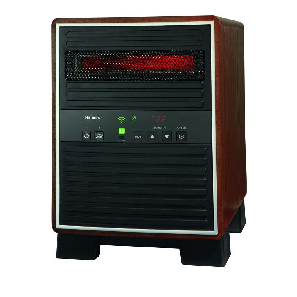Holmes 1500watt Extra Large Room Smart Portable Heater With  Wemohrh7404wenm  The Home Depot