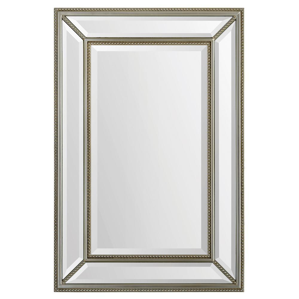 Mia 36 in. x 24 in. Framed Wall Mirror