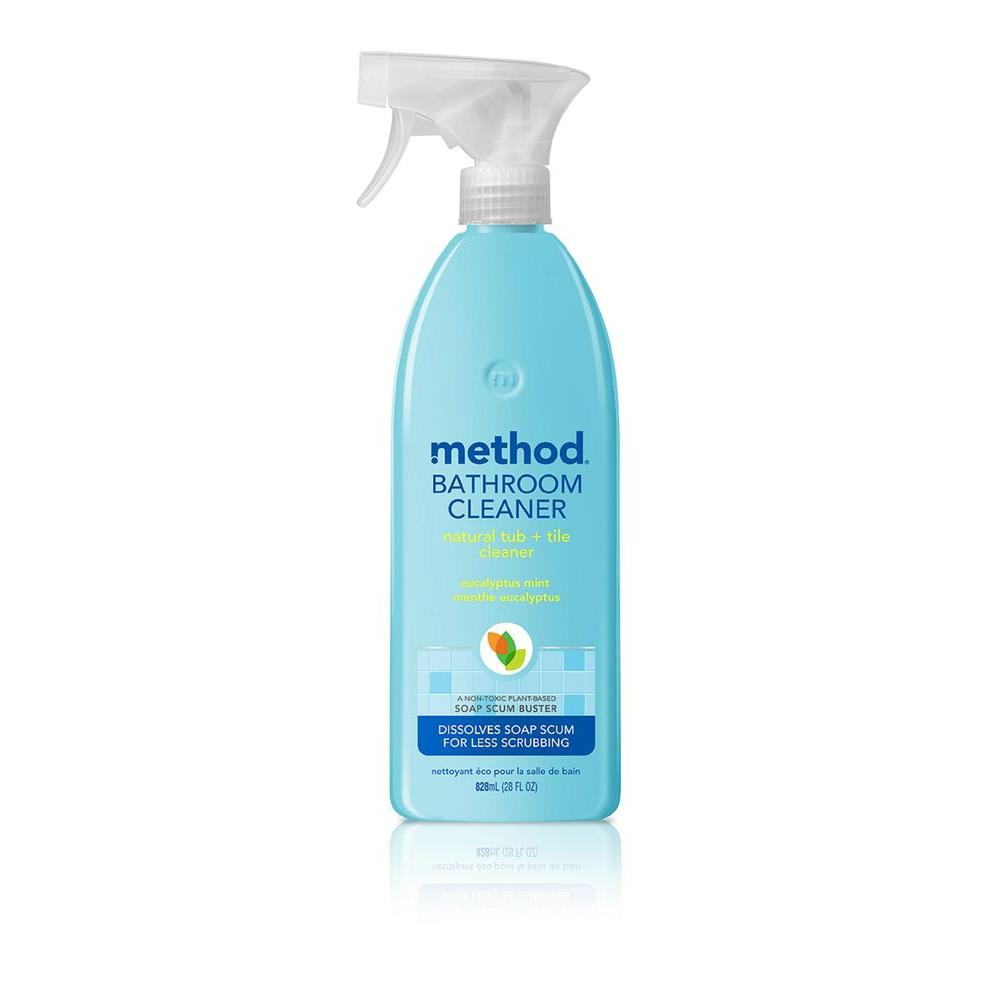 Method Oz Tub And Tile Cleaner The Home Depot - Method bathroom cleaner ingredients