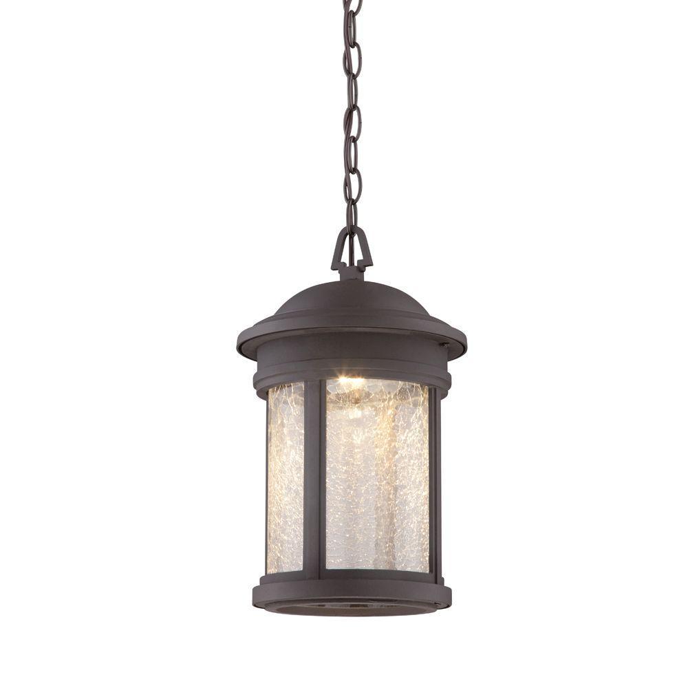 Prado Oil Rubbed Bronze Outdoor LED Hanging Lantern