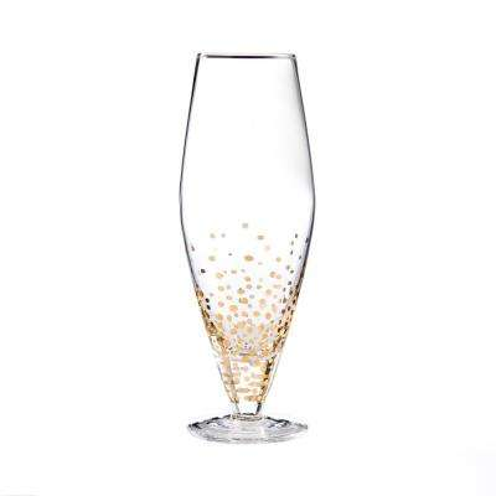 10.15 fl. oz. Gold Luster Prosecco Wine Glass (4-Pack)