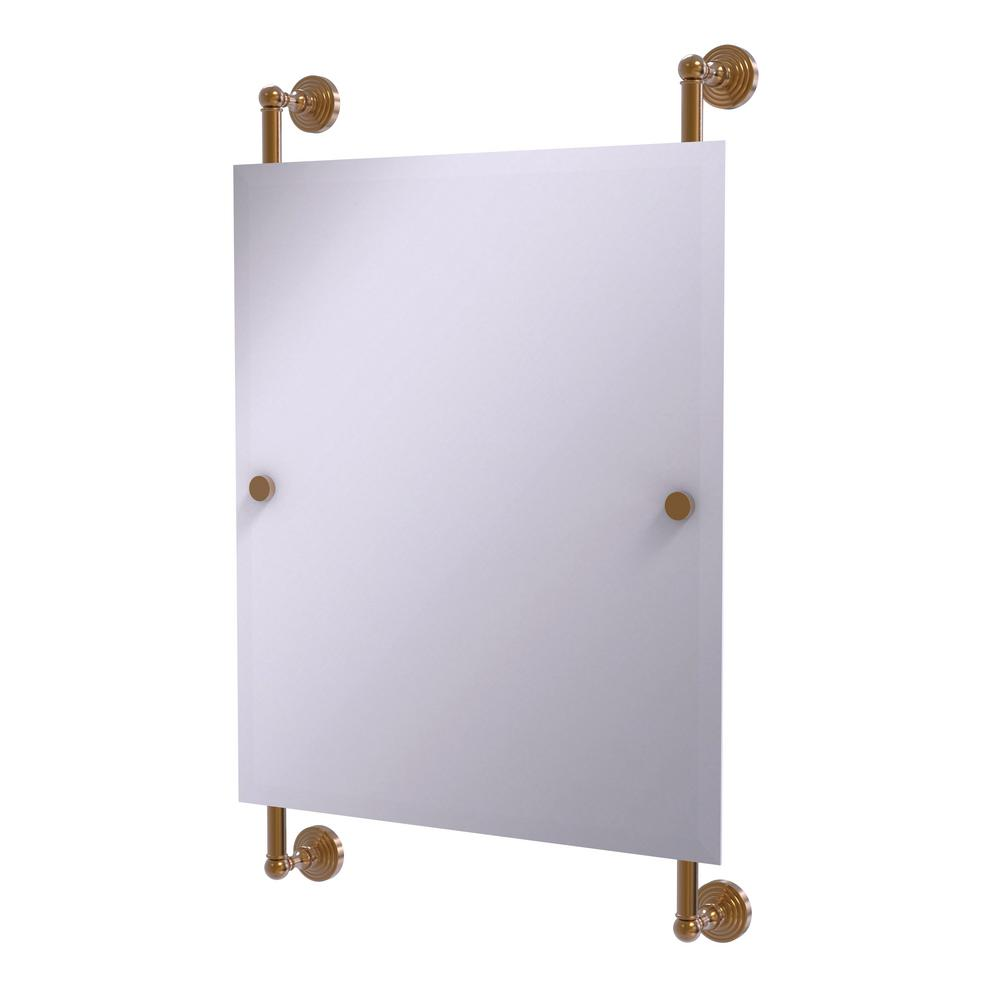 Waverly Place Collection 21 in. x 33 in. Rectangular Frameless Rail