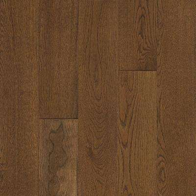 Take Home Sample  - White Oak Natural Grain Solid Hardwood Flooring - 5 in. x 7 in.