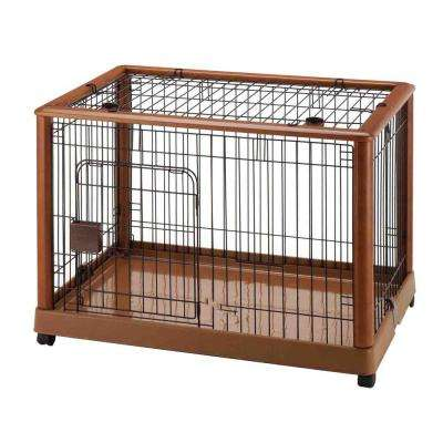 Wood Mobile Pet Pen 940