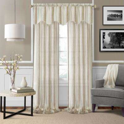 Enza Sheer Window Curtain Pair