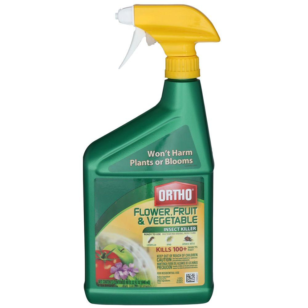 Ortho Flower Fruit And Vegetable 32 Oz Insect Killer 0331320 The Home Depot
