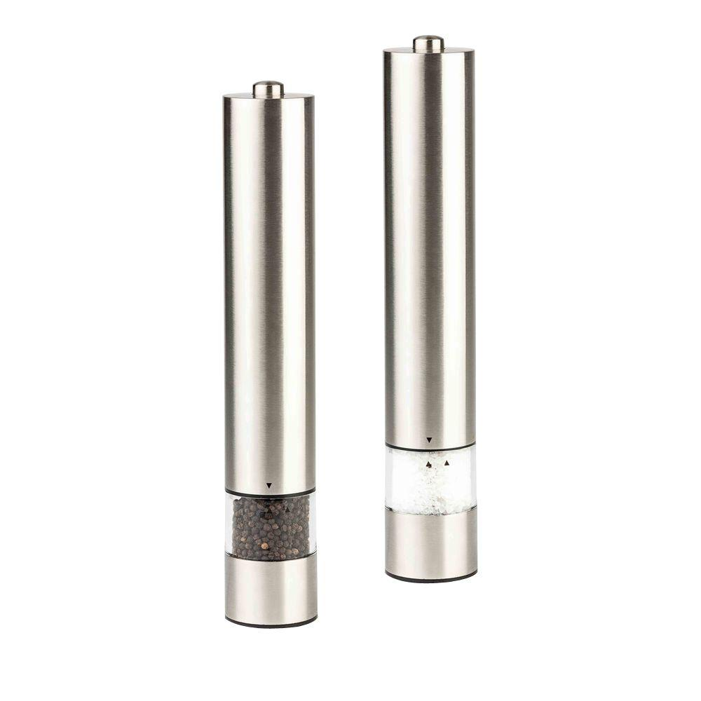 Modern Homes Gourmet Electric Salt Pepper Mill Ges 27412 The