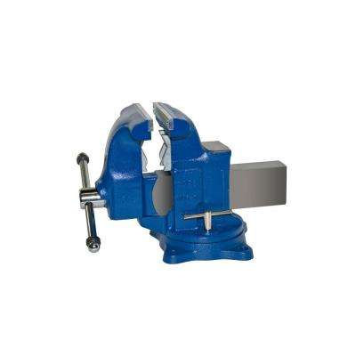 8 in. Medium Duty Tradesman Combination Pipe and Bench Vise - Swivel Base