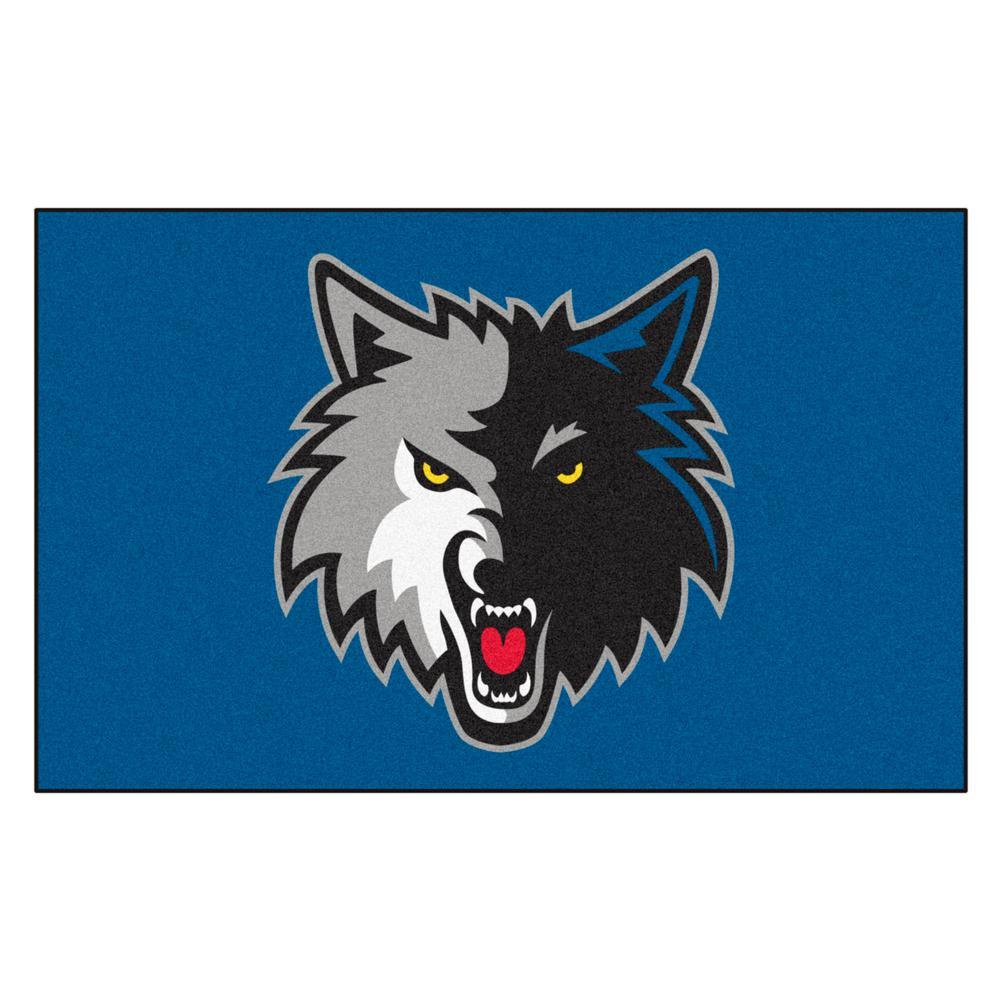 Minnesota Timberwolves 5 ft. x 8 ft. Ulti-Mat