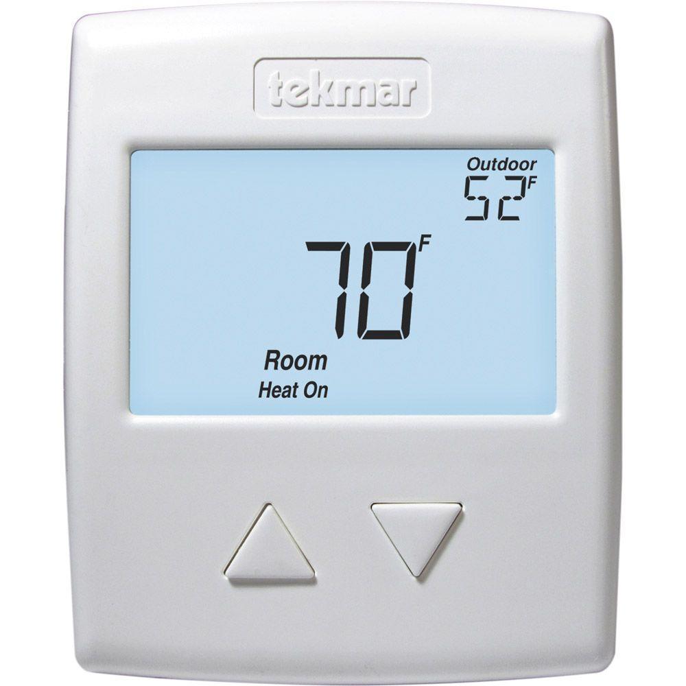 Tekmar Radiant 519 Digital Non Programmable 1 Stage Heat