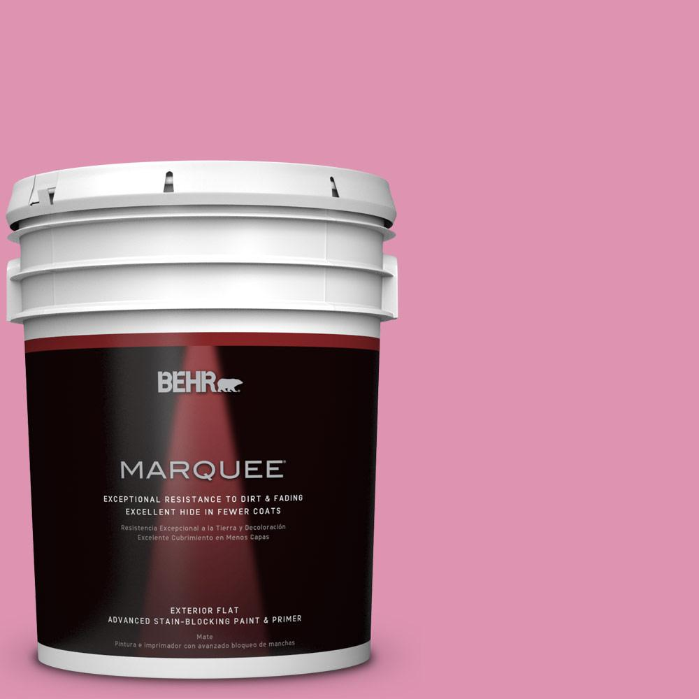 BEHR MARQUEE 5-gal. #P130-4 It's a Girl Flat Exterior Paint