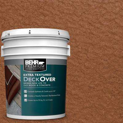 5 gal. #SC-122 Redwood Naturaltone Extra Textured Wood and Concrete Coating