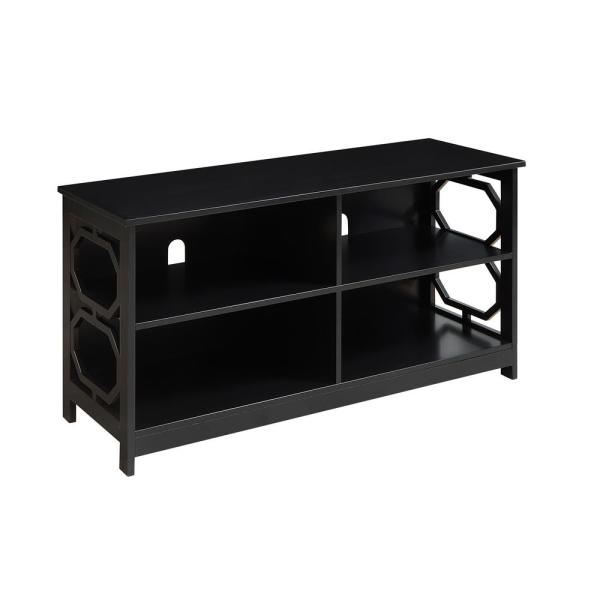 Convenience Concepts Omega Black TV Stand S20-302