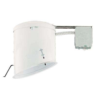 NICOR 6 in. Recessed Non-IC Rated Airtight Sloped Housing with Sloped Ceilings