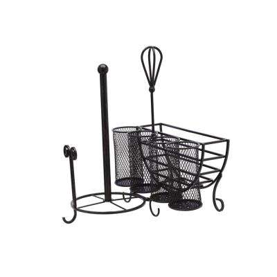 12.95 in. x 14.06 in. x 15 in. 5 Compartment Avilla Picnic Caddy