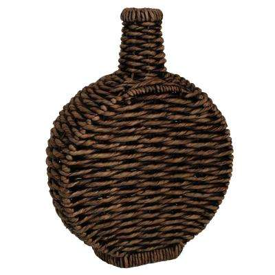 24 in. Woven Brown Bottle
