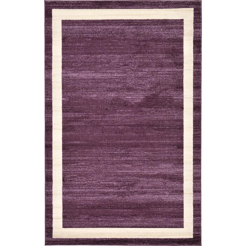 Del Mar Violet 5' x 8' Rug