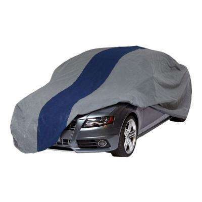 Double Defender Sedan Semi-Custom Car Cover Fits up to 14 ft. 2 in.