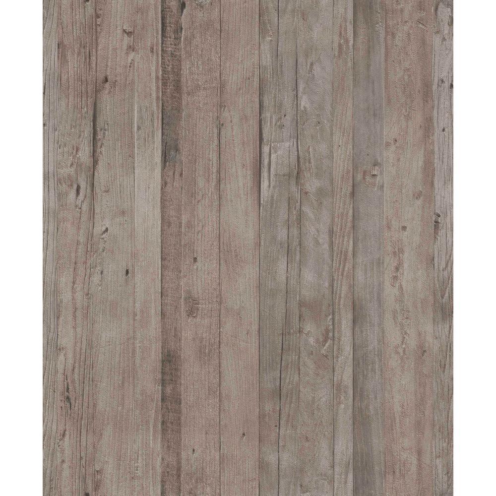 Faux Driftwood Hazel Rustica Wallpaper