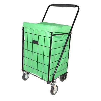 Deluxe Green Jumbo Hooded Carrier Liner
