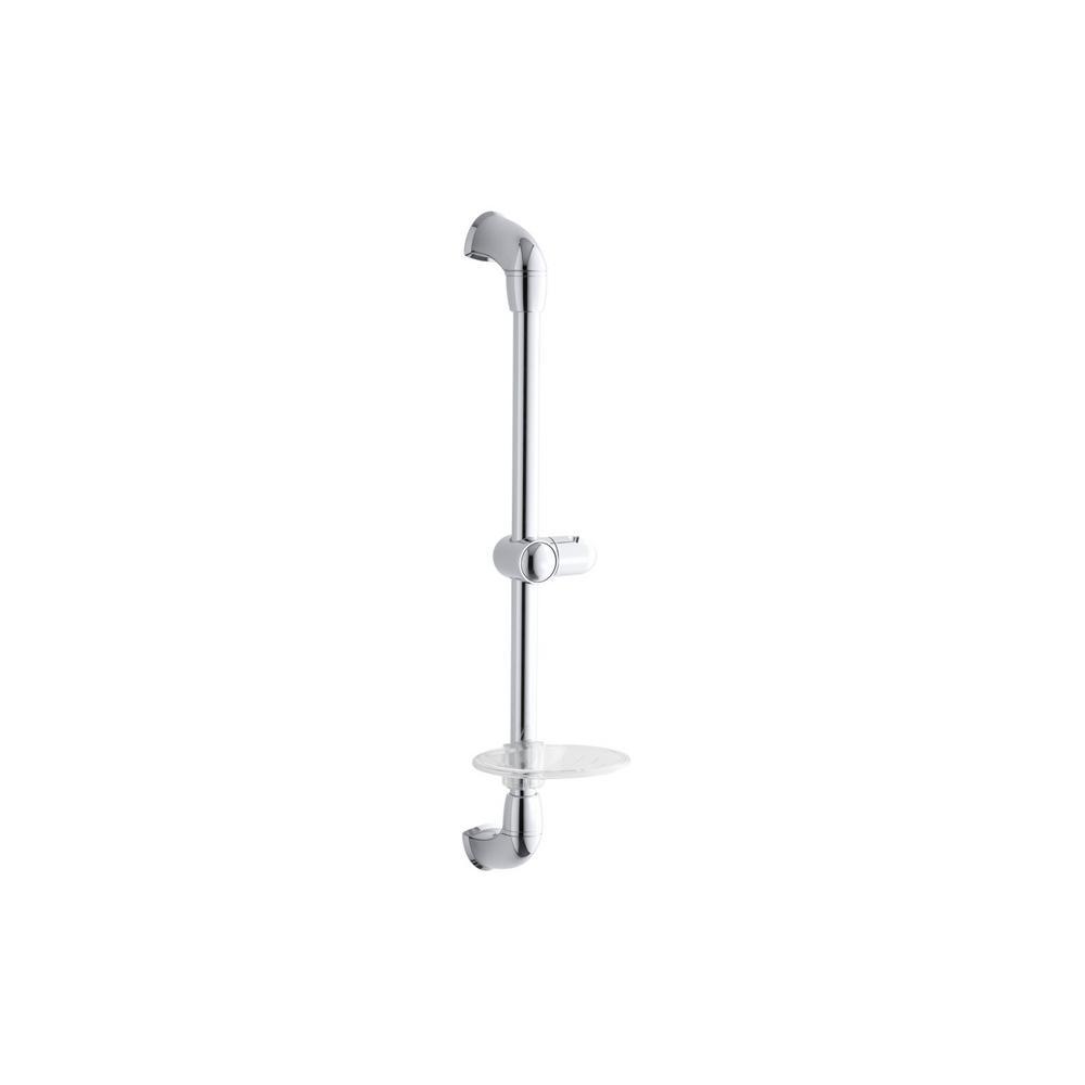 Kohler Mastershower 22 3 4 In Shower Slide Bar Polished Chrome
