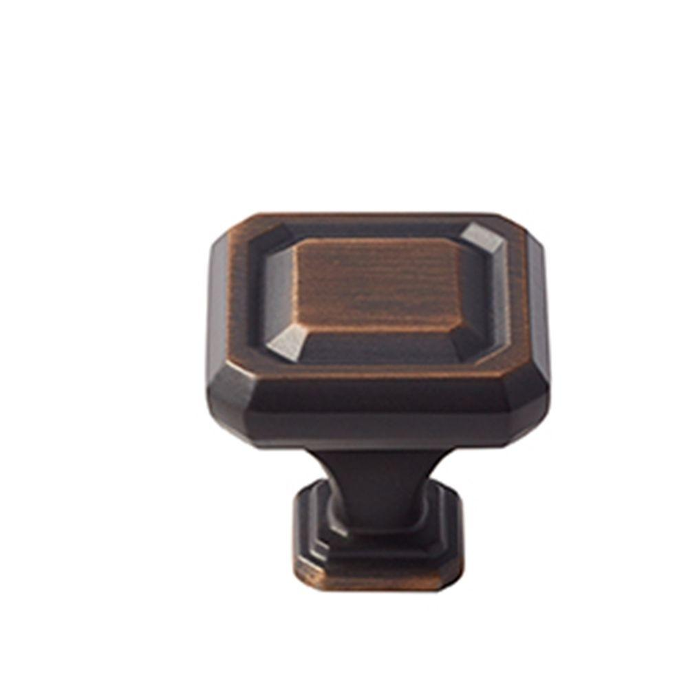 Wells 1-1/4 in. (32 mm) Oil-Rubbed Bronze Cabinet Knob