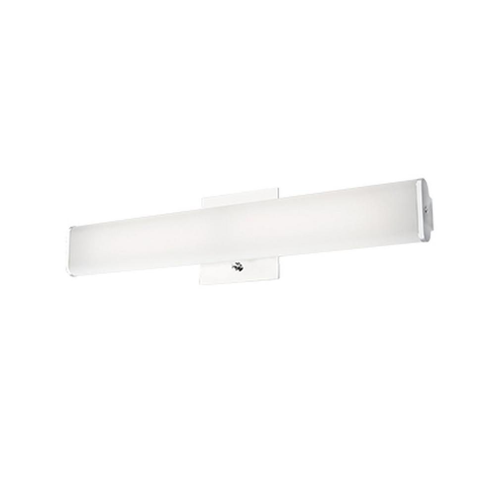 Nevaeh 1-Light Chrome 60-Watt Equivalence Integrated LED Bath Light