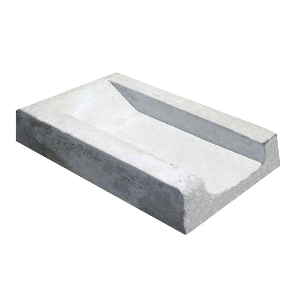 Concrete Splash Block 120s B The Home Depot
