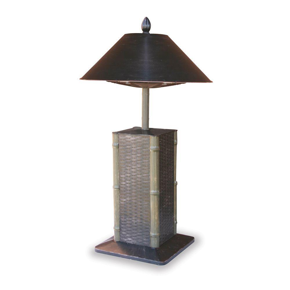 Endless Summer Sumatra 1,200-Watt Bronze Tabletop Electric Patio Heater-DISCONTINUED