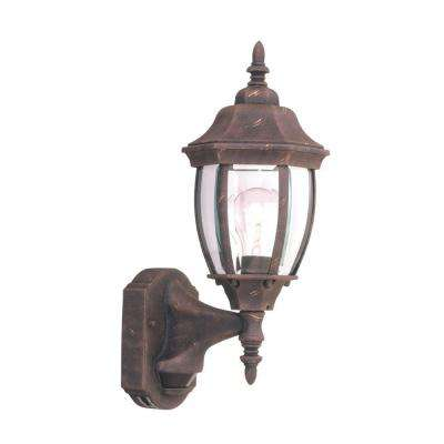 Windsor Mill Collection Autumn Gold Outdoor Wall-Mount Lantern