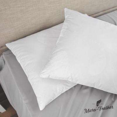 Micro-Feather Plush Jumbo Pillow (Set of 2)