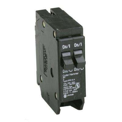 BR 2-20 Amp Single Pole Tandem Non-CTL Circuit Breaker