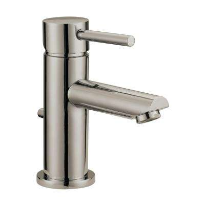 Eastport Single Hole Single-Handle Bathroom Faucet in Satin Nickel
