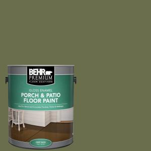 BEHR Premium 1 gal  #N260-6 Outdoor Cafe Gloss Enamel Interior
