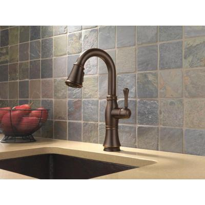 Cassidy Touch Single-Handle Pull-Down Sprayer Bar Faucet in Venetian Bronze