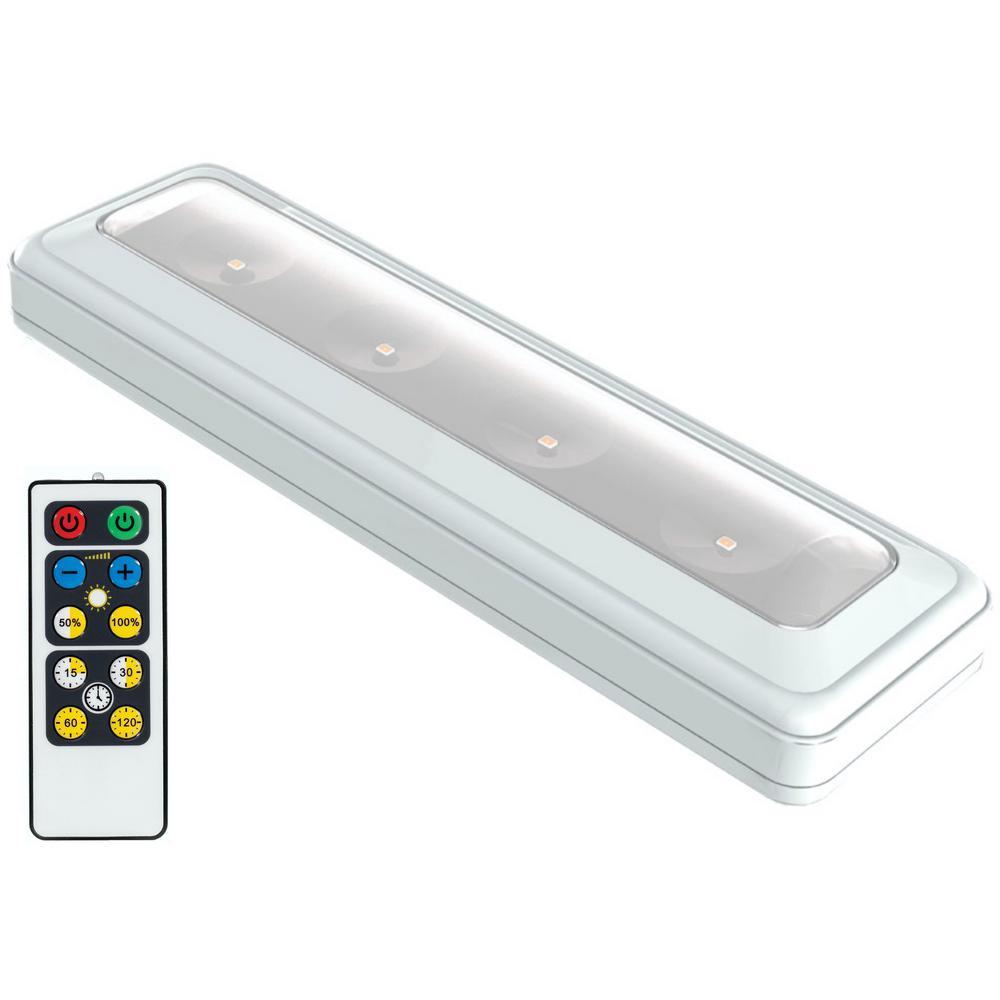 Led White Wireless Under Cabinet Light