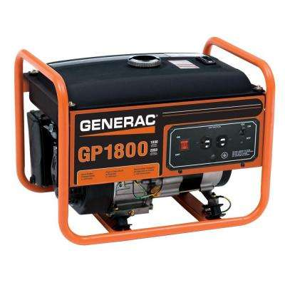 1,800-Watt Gasoline Powered Portable Generator